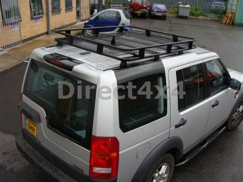 Roof Rack Rak Atas Mobil Navara land rover discovery 3 4 rugged roof rack luggage basket roof bars ski box ebay