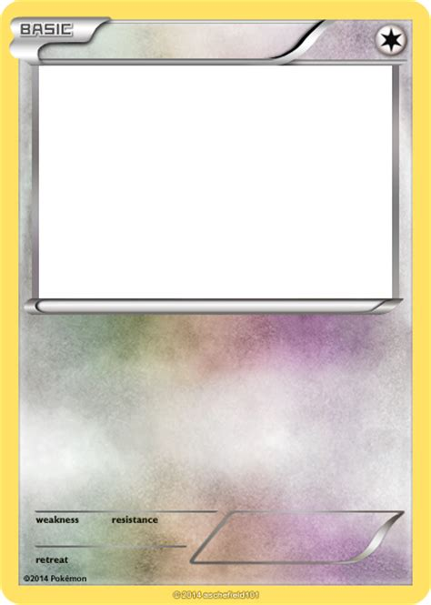 shiny templates credit card novafile xy blanks basic colorless by aschefield101 on deviantart