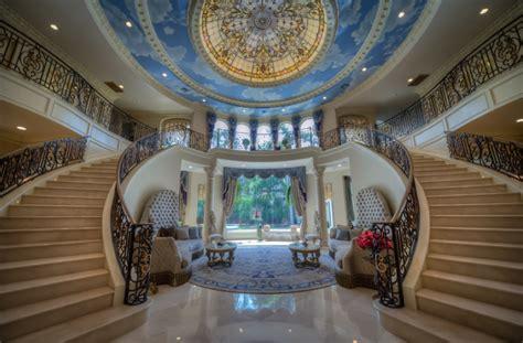 Mansion Foyer by Mediterranean Mansion In Houston Tx With Amazing Foyer
