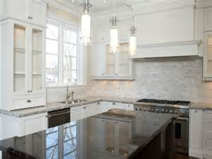 White Kitchen Cabinets Ideas For Countertops And Backsplash backsplash ideas for kitchen with white cabinets