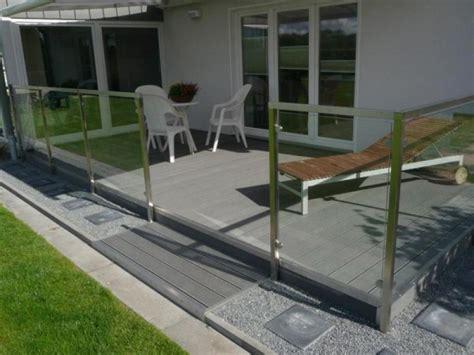 sichtschutz auf terrasse 688 wpc terrassenbausatz set f 252 r 40 qm wpc dielen zaun shop