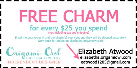 Discount Origami Owl - origami owl coupon and s day giveaway