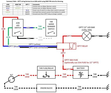 opt7 led switch wiring diagram wiring diagram schemes
