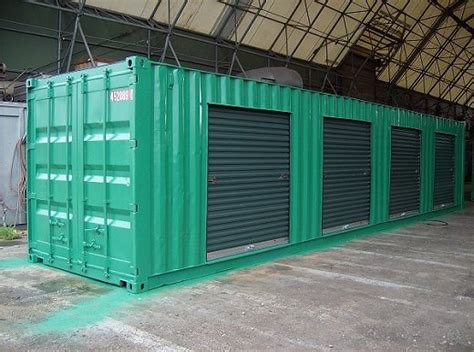 Modified Storage Container by Shipping Containers Modified Shipping Containers