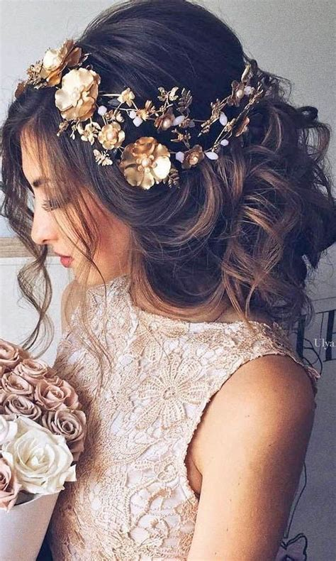 formal hairstyles with flowers 33 wedding hairstyles romantic bridal updos romantic