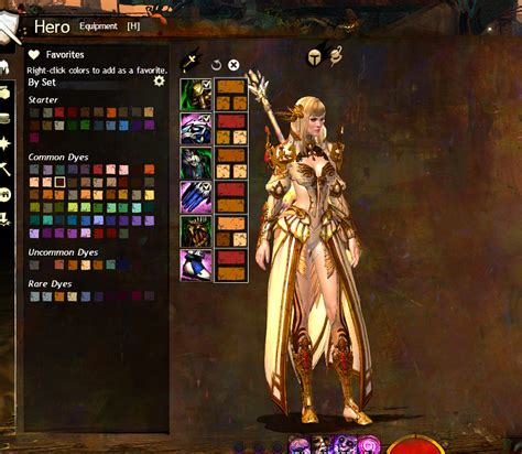 Guild Wars 2 Dye   visualizing dyes by hue and luminance 2013 ed guildwars2
