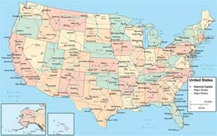 a map of the united states with cities usa city map us city map america city map city map of