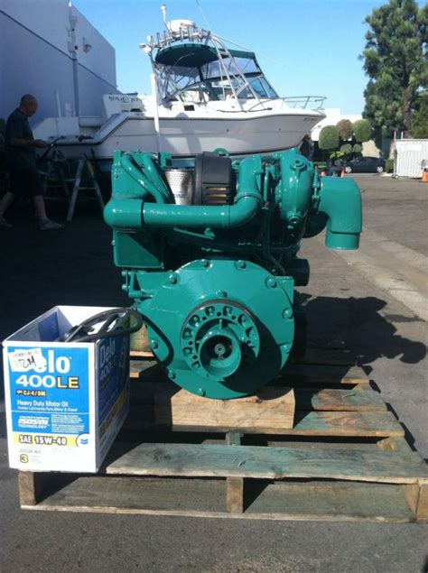 find volvo penta refurbished adb complete bobtail marine diesel engine io ready motorcycle
