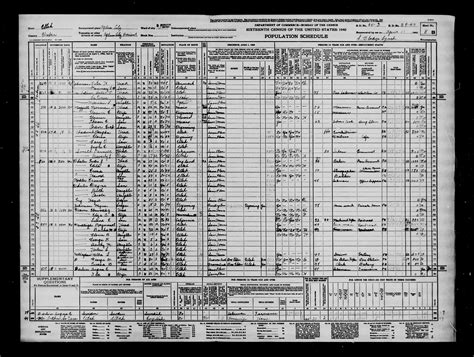 Ogden Utah Divorce Records 1940 U S Federal Census Ogden Weber Ut 11 Apr 1940 Parents