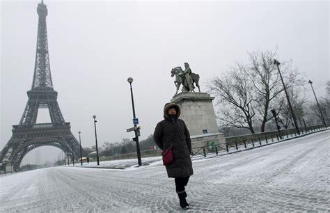 imagenes luto por francia las im 225 genes m 225 s espectaculares de la gran nevada que ha
