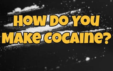 How Do You Detox From Cocaine by How Do You Make Cocaine Australia Says No Absolutely