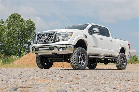 Rogue Kit Pathfinder by 6in Nissan Suspension Lift Kit 16 17 Titan Xd 4wd