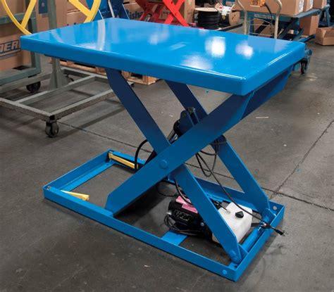 hydraulic pallet lift table l2k 3648 optimus hydraulic scissor lift tables pallet