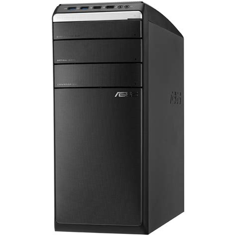 used desk top computers used asus m51bc us004s desktop computer m51bc us004s b h photo
