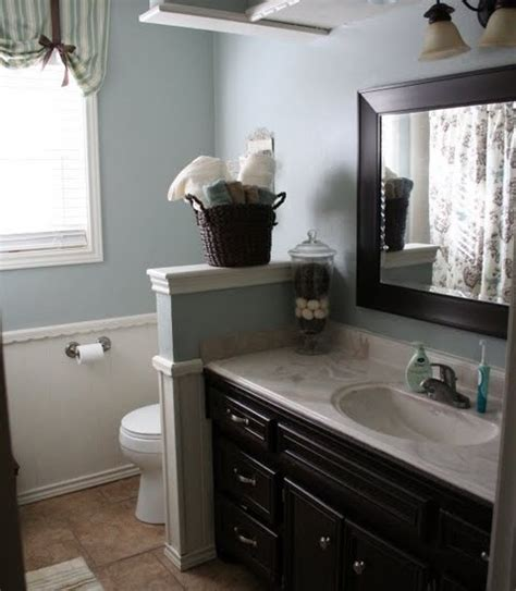 Bathroom Half Wall by Half Wall Bathroom Design Ideas Pictures Remodel And Decor