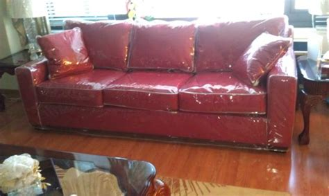 plastic covered couch plastic slipcovers for sofas plastic sofa covers a thesofa