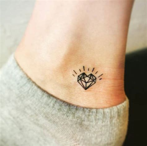 small heart tattoos on foot 50 ankle tattoos