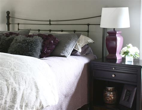 deep purple and grey bedroom gray and purple bedroom traditional bedroom detroit