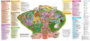 disneyland anaheim park map printable pictures to pin on