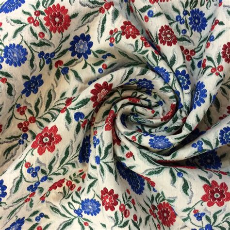 haute couture luxury jacquard viscose fabric buy printed floral fabric fashion designer