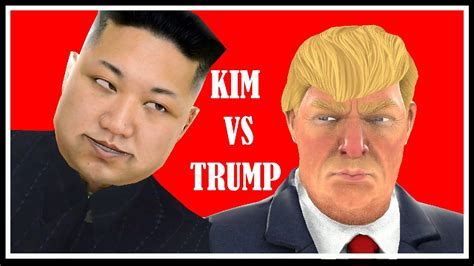 donald trump vs kim jong un kim jong un vs donald trump the end begins youtube
