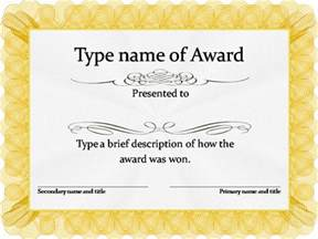 Free Editable Certificates Templates Gallery For Gt Free Printable Blank Award Certificates