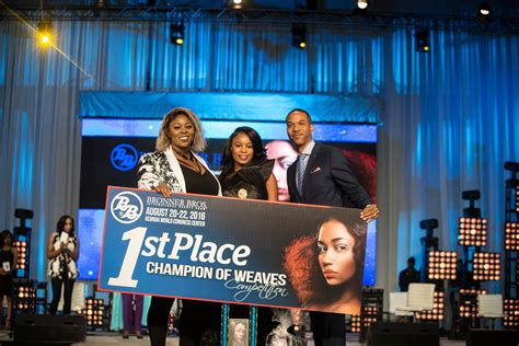 bronner brothers hair show 2015 winner chion of weave bronner bros international beauty show
