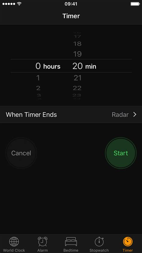 timer for iphone how to set a timer to automatically stop or