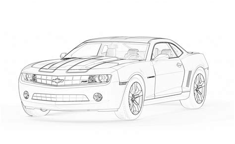 Camaro Coloring Pages 2010 camaro coloring pages coloring home