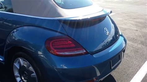 2017 Volkswagen Beetle Sel Convertible Silk Blue Lightning