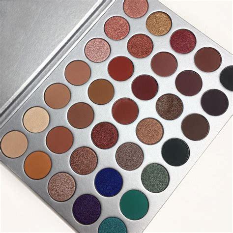 Pro 35 Colors Makeup Eyeshadow Palette Shimmer Matte Eye Color Eyeshadow