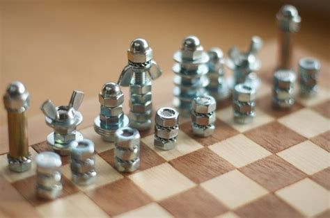 diy chess set diy chess board and pieces fun games pinterest