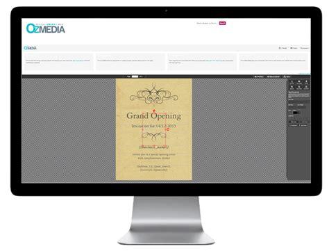ozmedia printing design templates