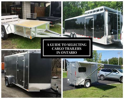 A Place Trailer 1 A Guide To Selecting Cargo Utility Trailers In Ontario