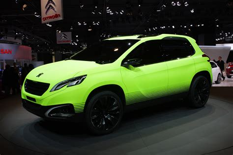 peugeot suv concept peugeot 2008 concept raises the roof for b segment cuvs