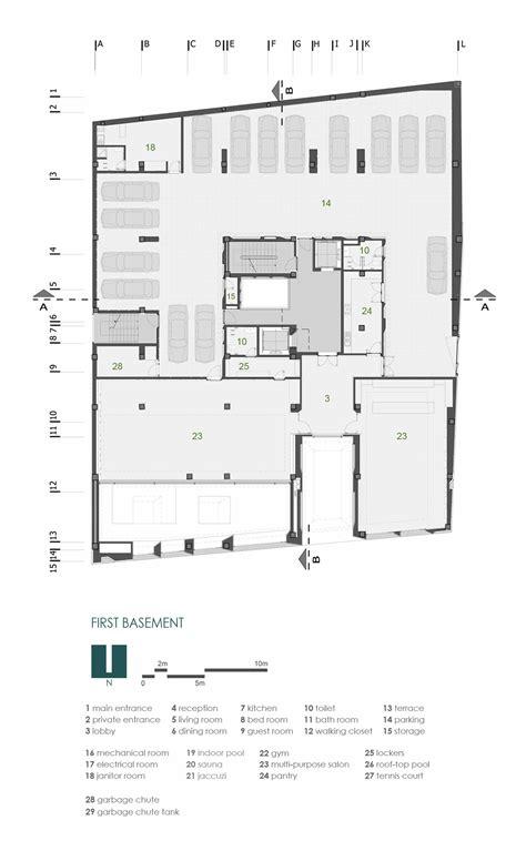 sle floor plan of a house gallery of sipan residential building ryra studio 22