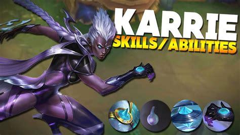karie mobile legend skills abilities of karrie mobile legends new