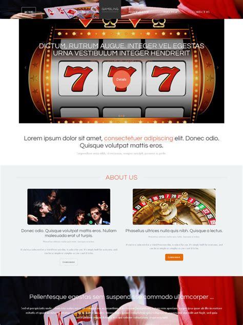 casino template casino site template website templates