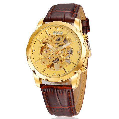 2016 new mechanical vintage leather
