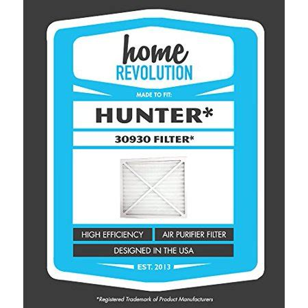 30930 home revolution brand air purifier filter replacement made to fit models