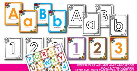 printable alphabet cards no pictures honeybops free printable alphabet mini flash card set