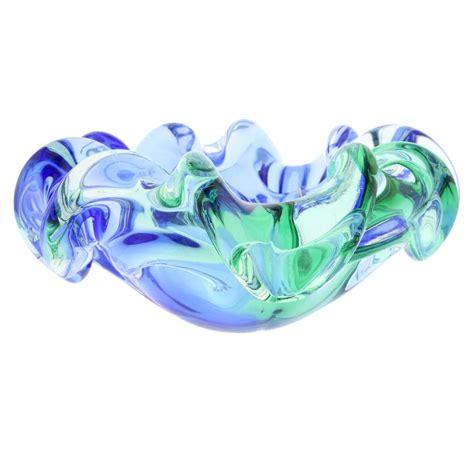 Home Decor Warehouse Sale Murano Sommerso Centerpiece Bowl Unique Glass Vases