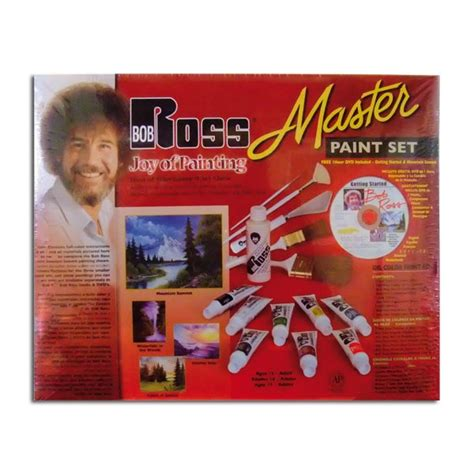 bob ross ultimate painting kit ken bromley supplies bob ross master paint set