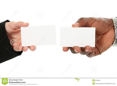 card exchange business card exchange royalty free stock image image