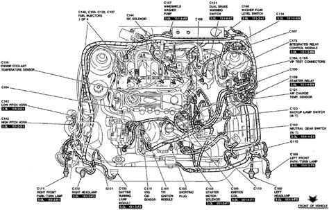 engine components diagram 2003 ford ranger engine compartment diagram autos post
