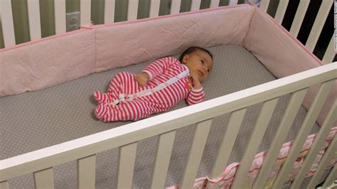 Bumpers For Baby Cribs Stop Using Crib Bumpers Doctors Say Cnn