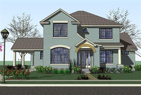 plan w16817wg prairie style home with porte cochere e prairie style home with porte cochere 16817wg prairie