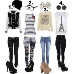 Fashion ideas for styleator concept with different fashion styles