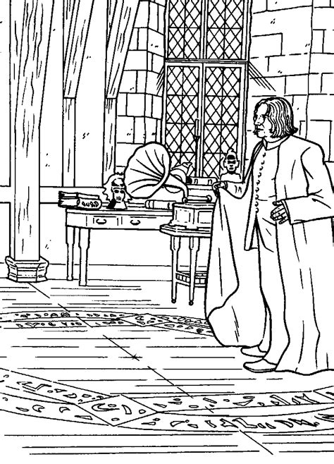 Kids-n-fun.com | 25 coloring pages of harry potter and the