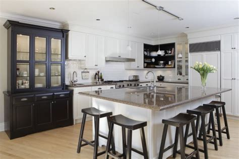Kitchens With Dark Wood Cabinets by White Kitchen Cabinets For The Most Timeless Kitchen